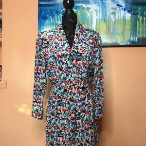 Vintage 80's Liz Claiborne dress